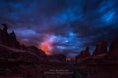 Arches Park Avenue Sunset Flame
