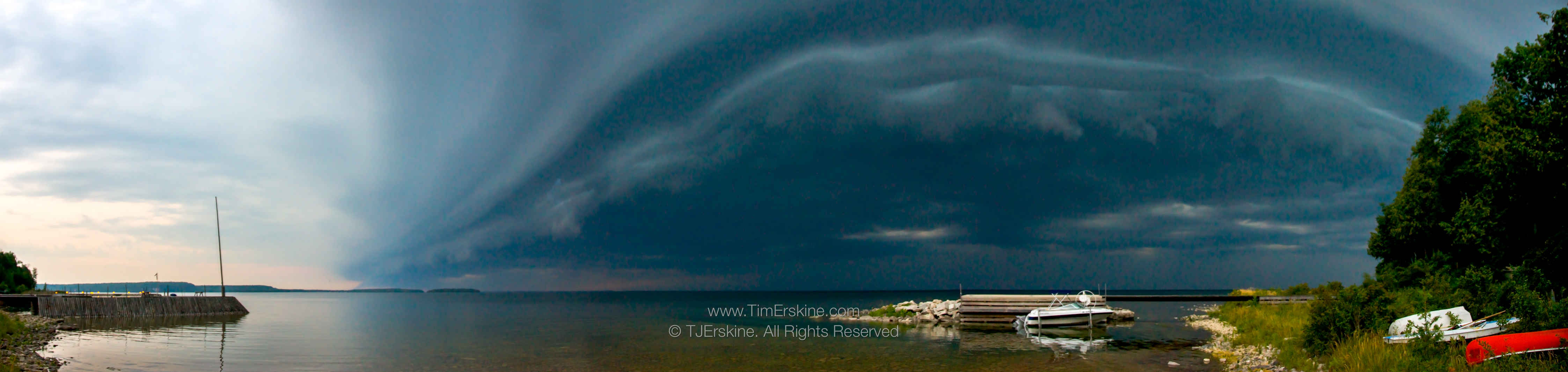 Ephraim Roll Cloud Storm Panorama