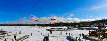 Fish Creek Winter Fest Panorama