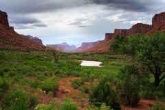 San Juan River Canyon