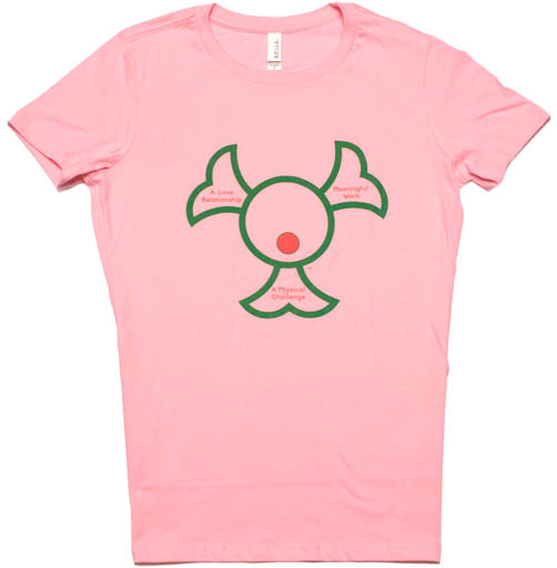 Three Legs of Happiness, Pink Women's